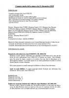 2020.12.11 COMPTE RENDU CM