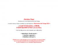 Invitation mail RA. Saint-Quentin-la-Tour 10.12.19