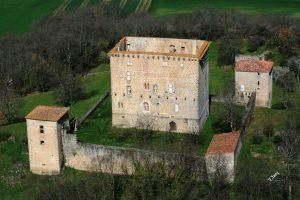 Vue aérienne de la Tour de Saint Quentin (privé)